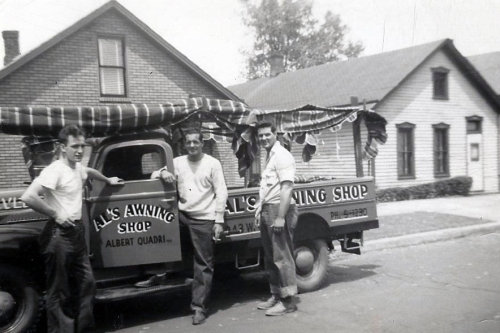 Old Al's Awning Shop Truck